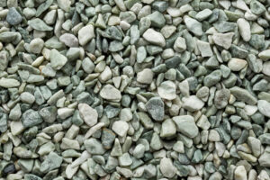 Mixed of compacted gravel