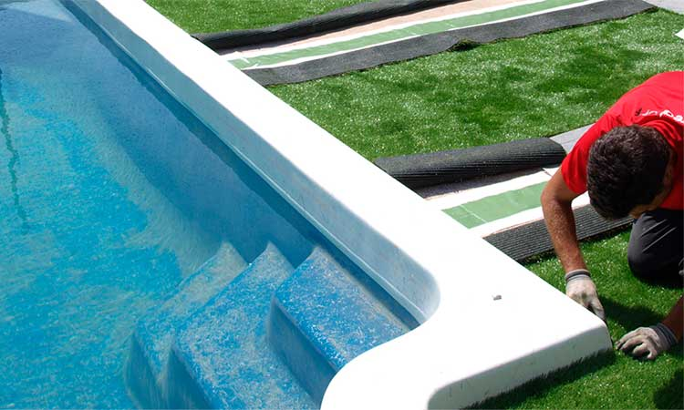 Secure fabric artificial turf