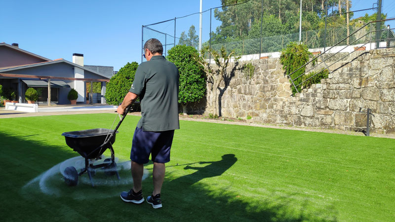 Artificial grass infill Realturf
