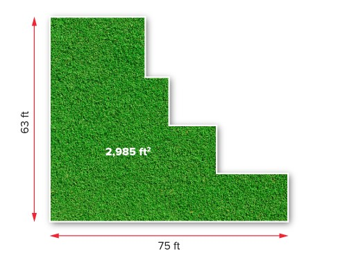 How to measure artificial grass 1a