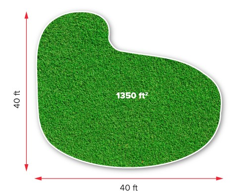 How to measure artificial grass 2a