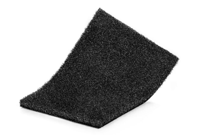 Césped artificial Gymsport black, ideal para zonas deportivas.