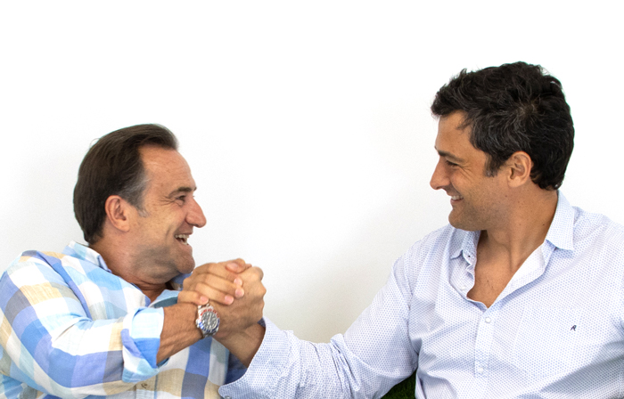 Juan y Antonio fundadores Realturf