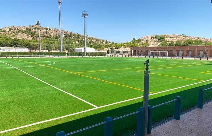 Césped artificial campo de fútbol Yecla