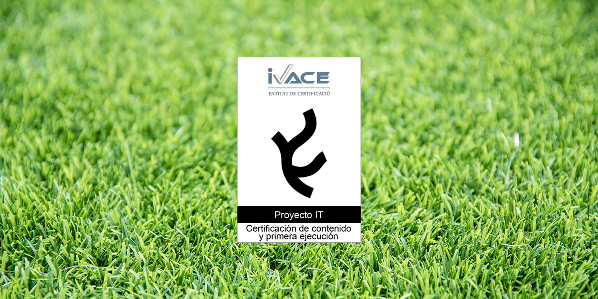 sello proyecto IT IVACE Realturf