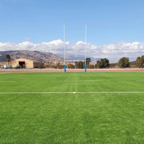 Césped artificial rugby viator almería 5