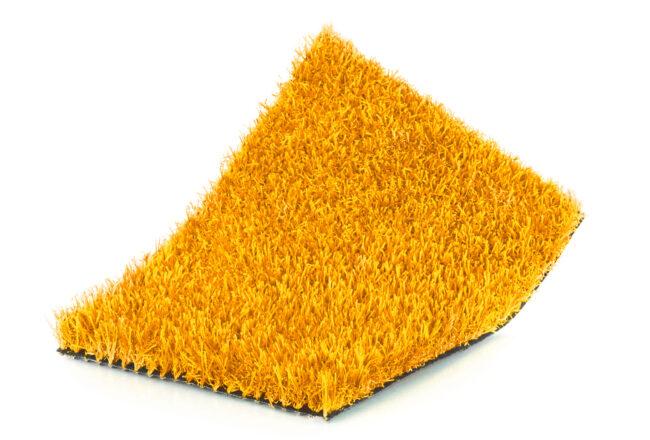 Crea combinaciones de césped artificial de colores con nuestro color kids amarillo.