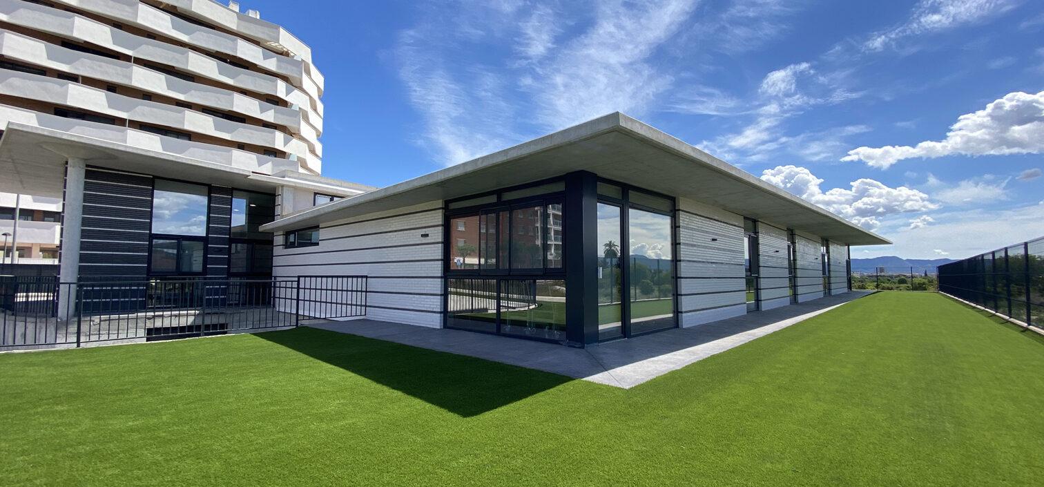 Césped artificial jardín AFAMUR Murcia
