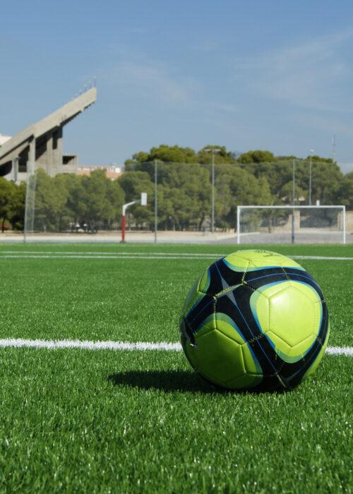Césped artificial fútbol hipódromo Alicante