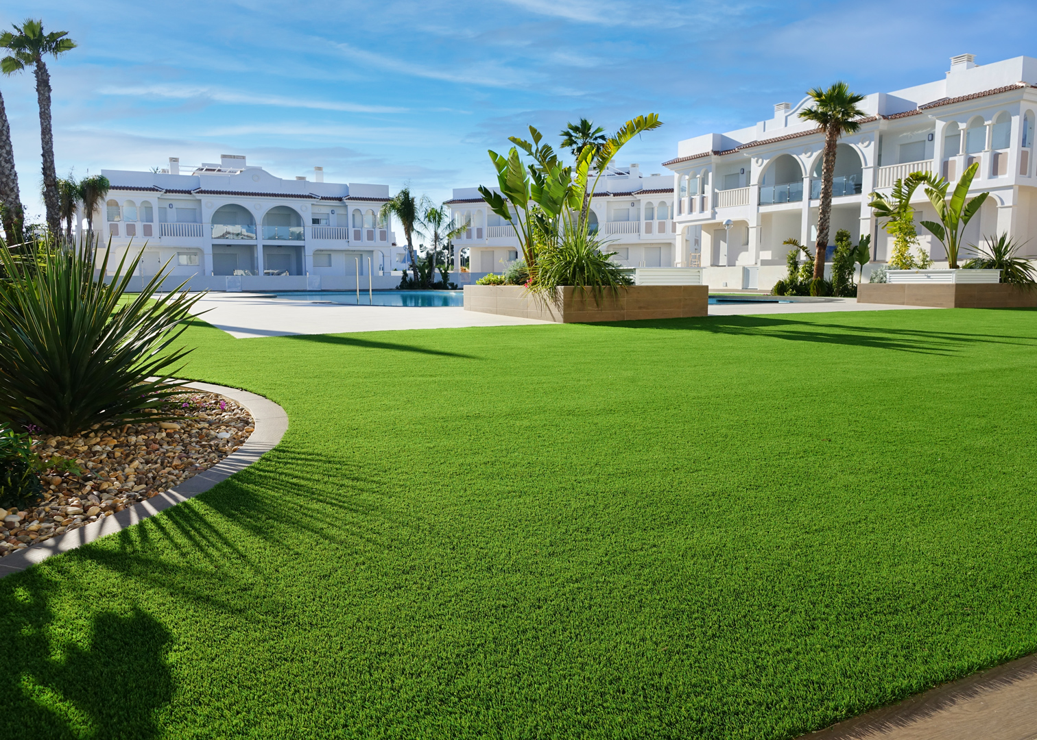 Césped artificial residencial Romeo