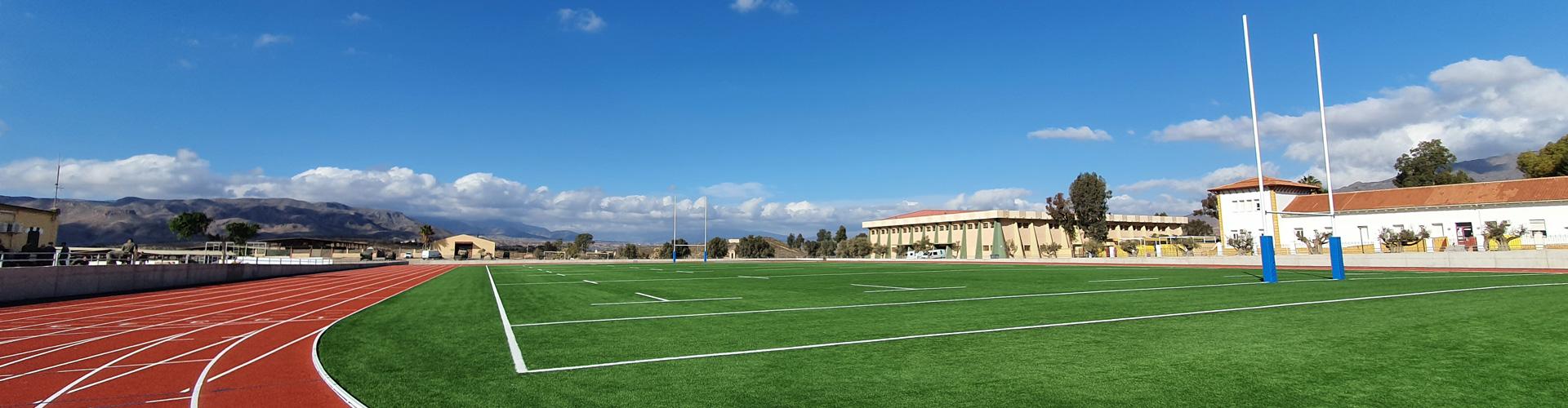 Césped artificial rugby Viator Almería