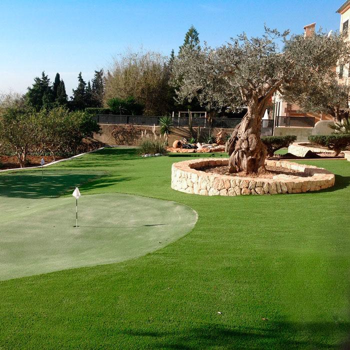 Realturf Mallorca césped artificial en campo de golf