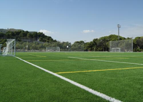 grass hippodrome football field in Alicante