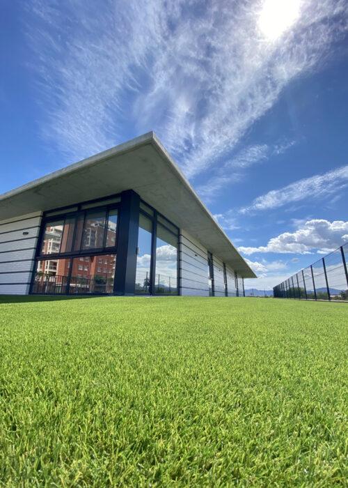 Artificial grass in AFAMUR