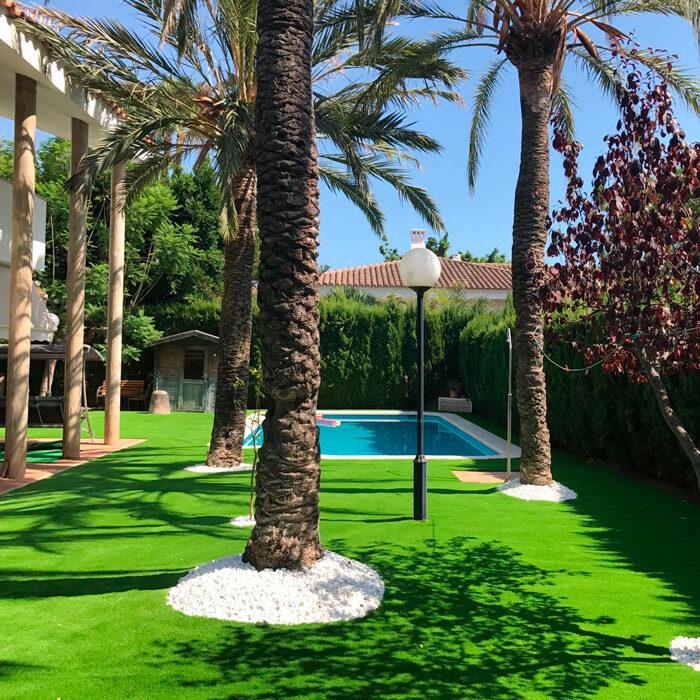 artificial grass in Castellón