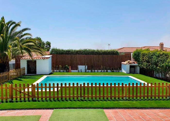 Artificial grass in Badajoz