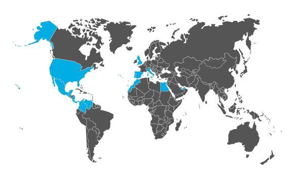 Realturf presente en todo el mundo