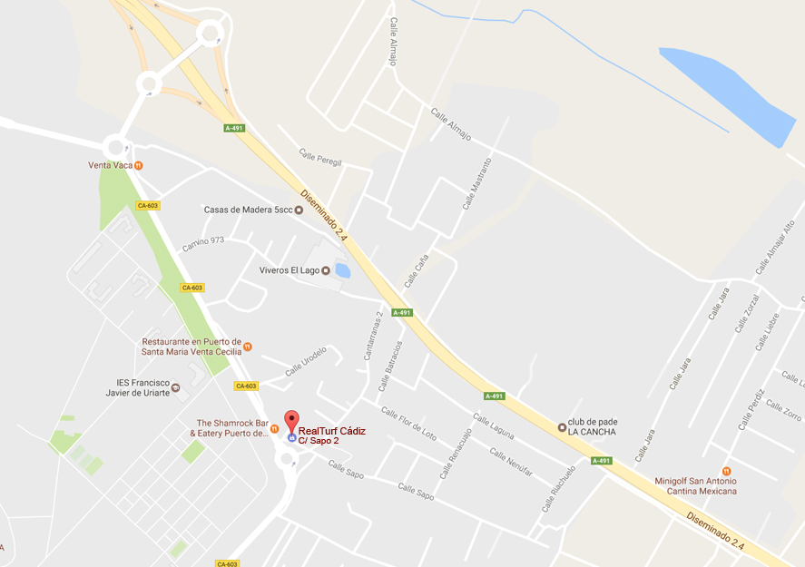 Césped artificial en Cádiz - Contacto