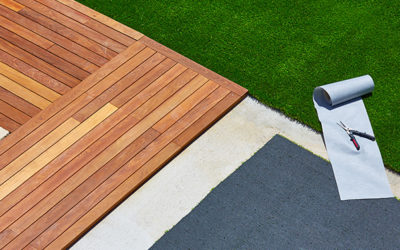 Artificial grass installation: easy and quick