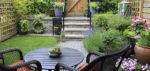3 originales ideas para usar césped artificial en jardines pequeños