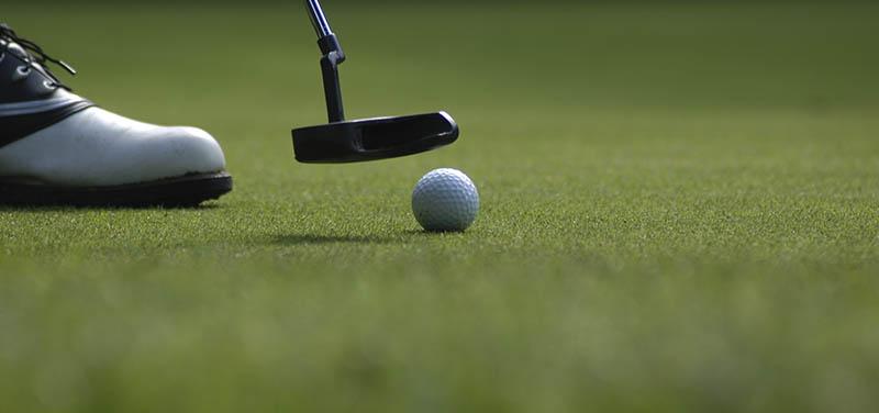 ¿Existen diferentes tipos de césped artificial para campos de golf?