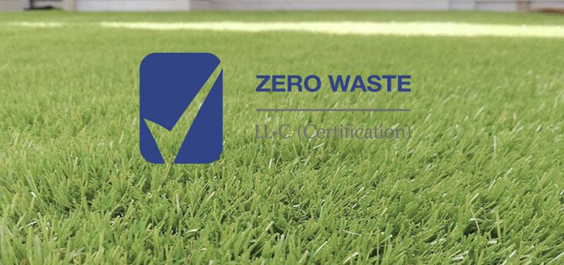 Realturf obtiene la certificación Zero Waste