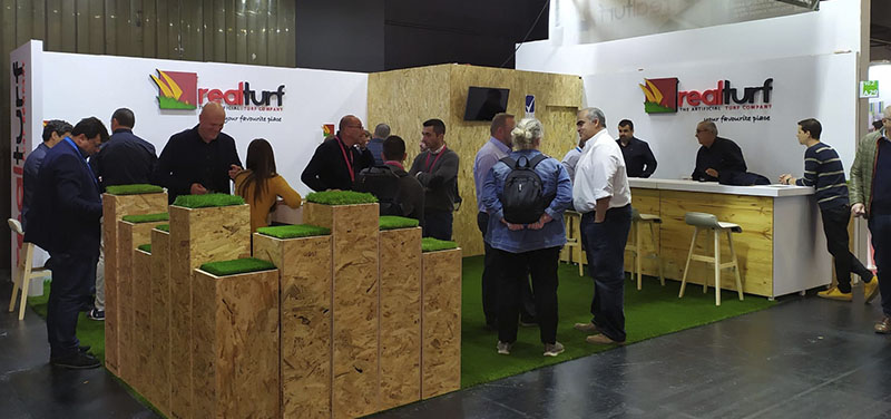 Éxito rotundo de RealTurf en la Feria FSB 2019