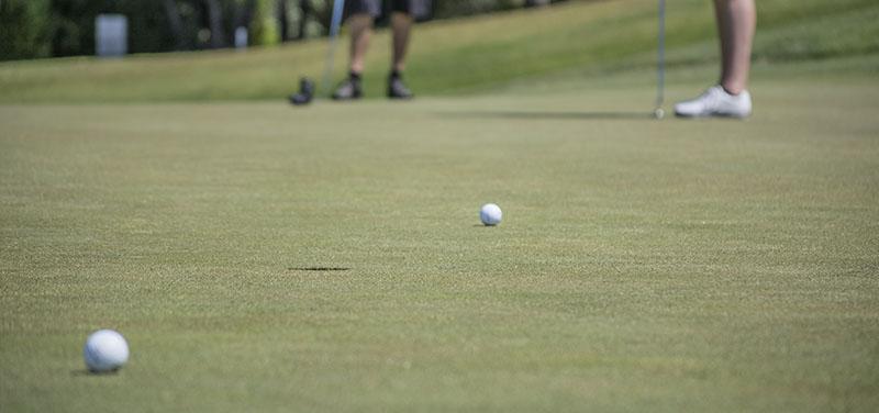 Mantenimiento del césped artificial en campos de golf