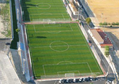 Campos de fútbol con césped artificial en Alicante