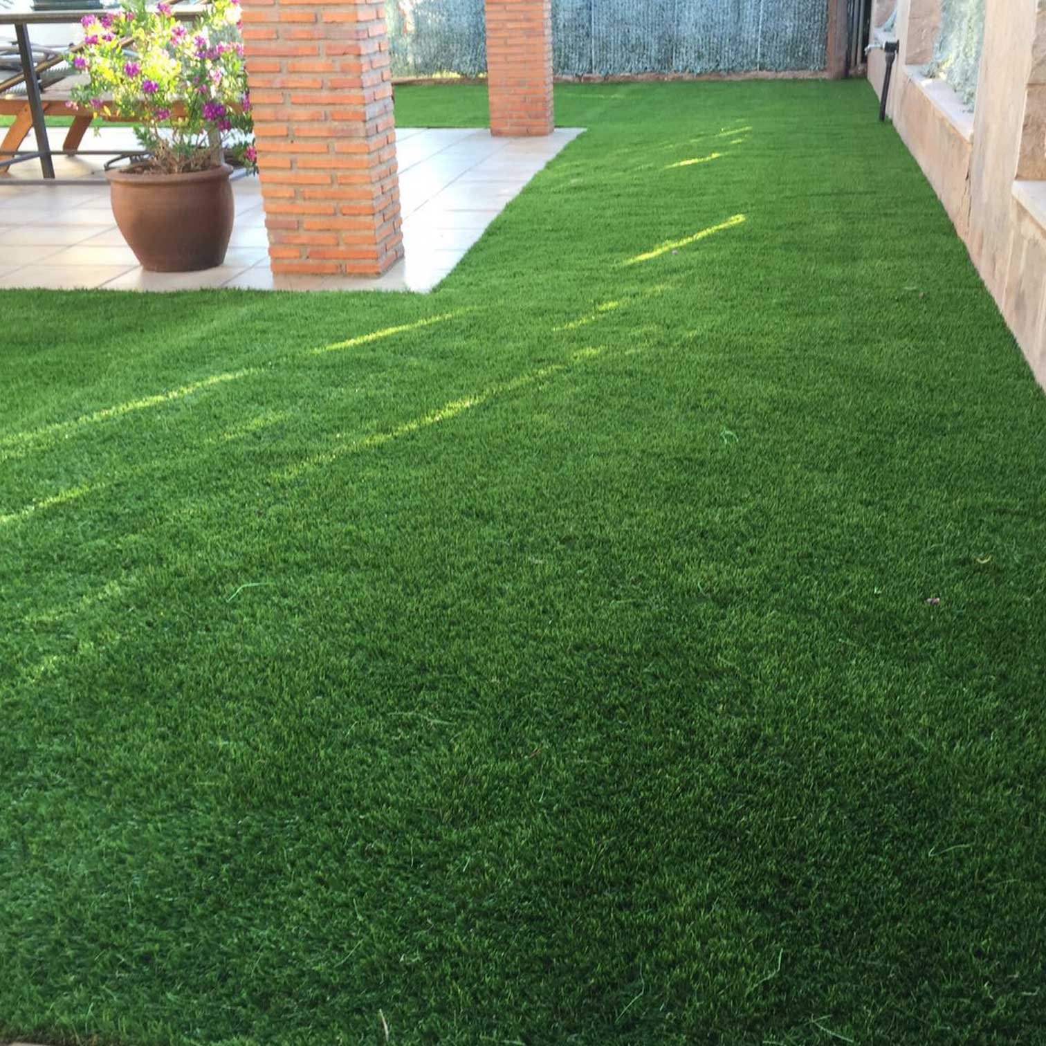 Jardines cesped artificial cesped artificial jardin - Jardin cesped artificial ...