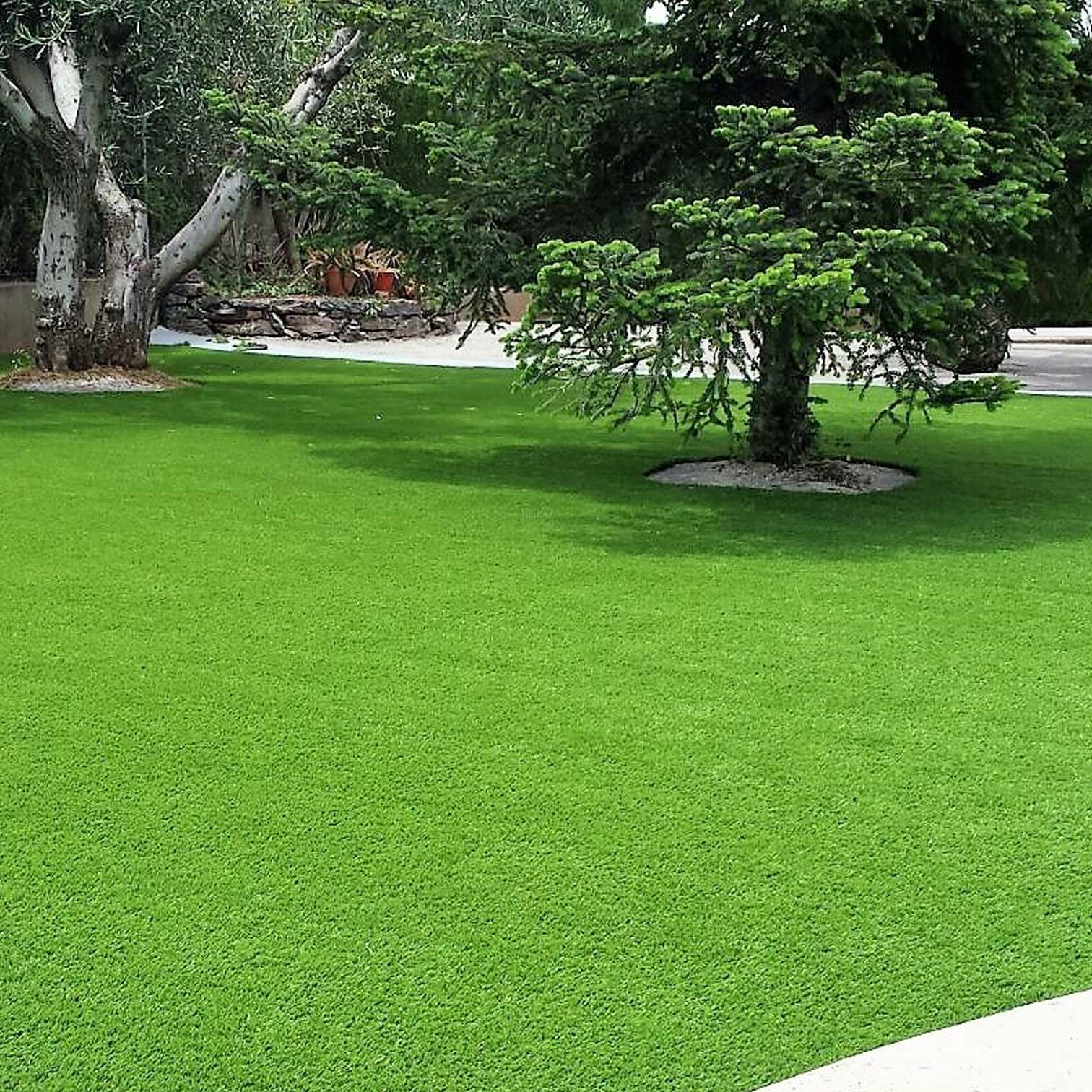 C sped artificial en castell n real turf - Cesped artificial jardin ...