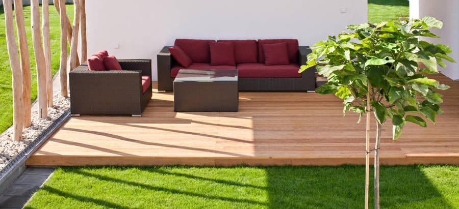 Nueva tendencia c sped artificial en terrazas c sped - Cesped artificial para terrazas ...