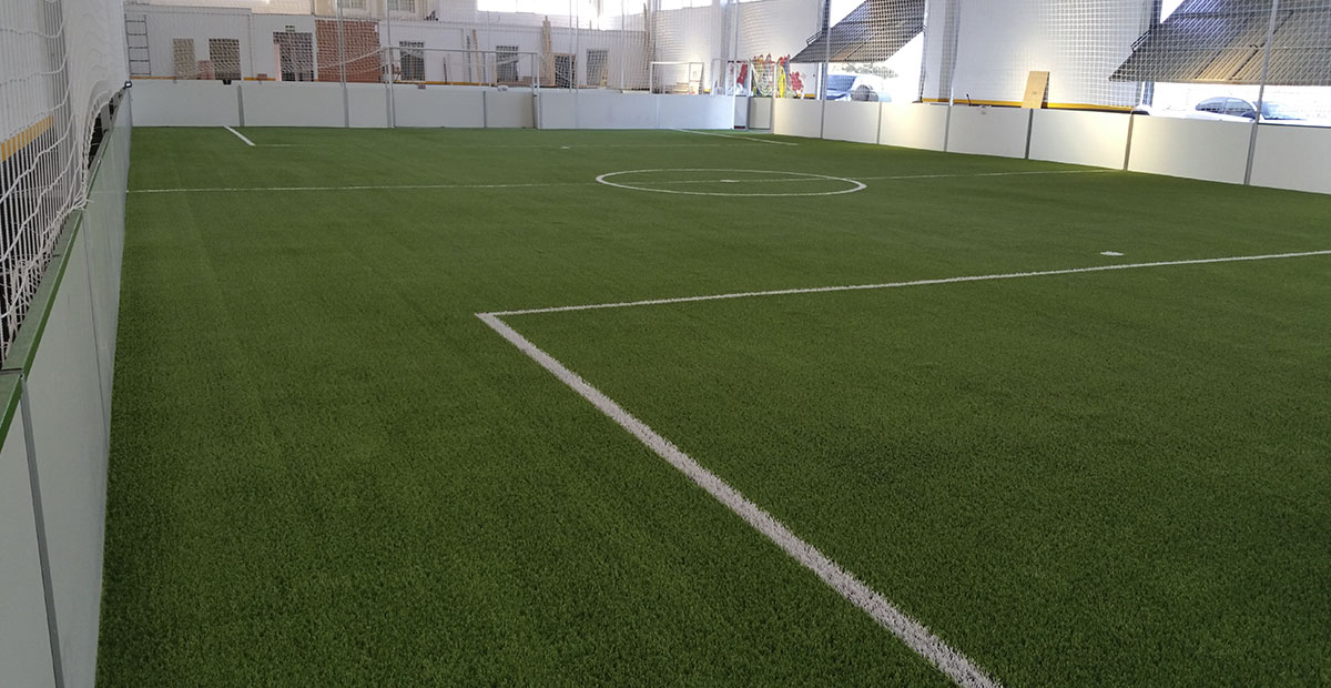 Campo Fútbol Césped Artificial Indoor Salamanca