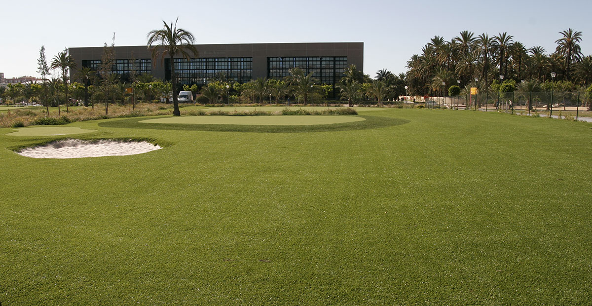 Campo Golf Césped Artificial Universidad Miguel Hernández de Elche