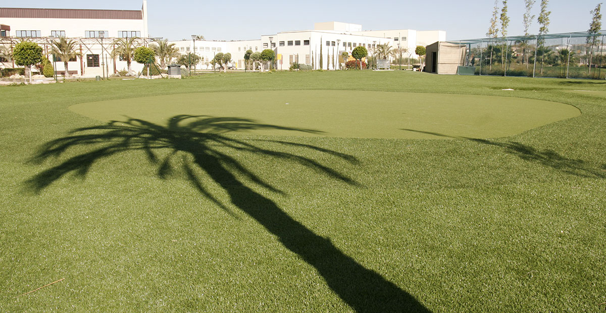 Campo Golf Césped Artificial Alicante