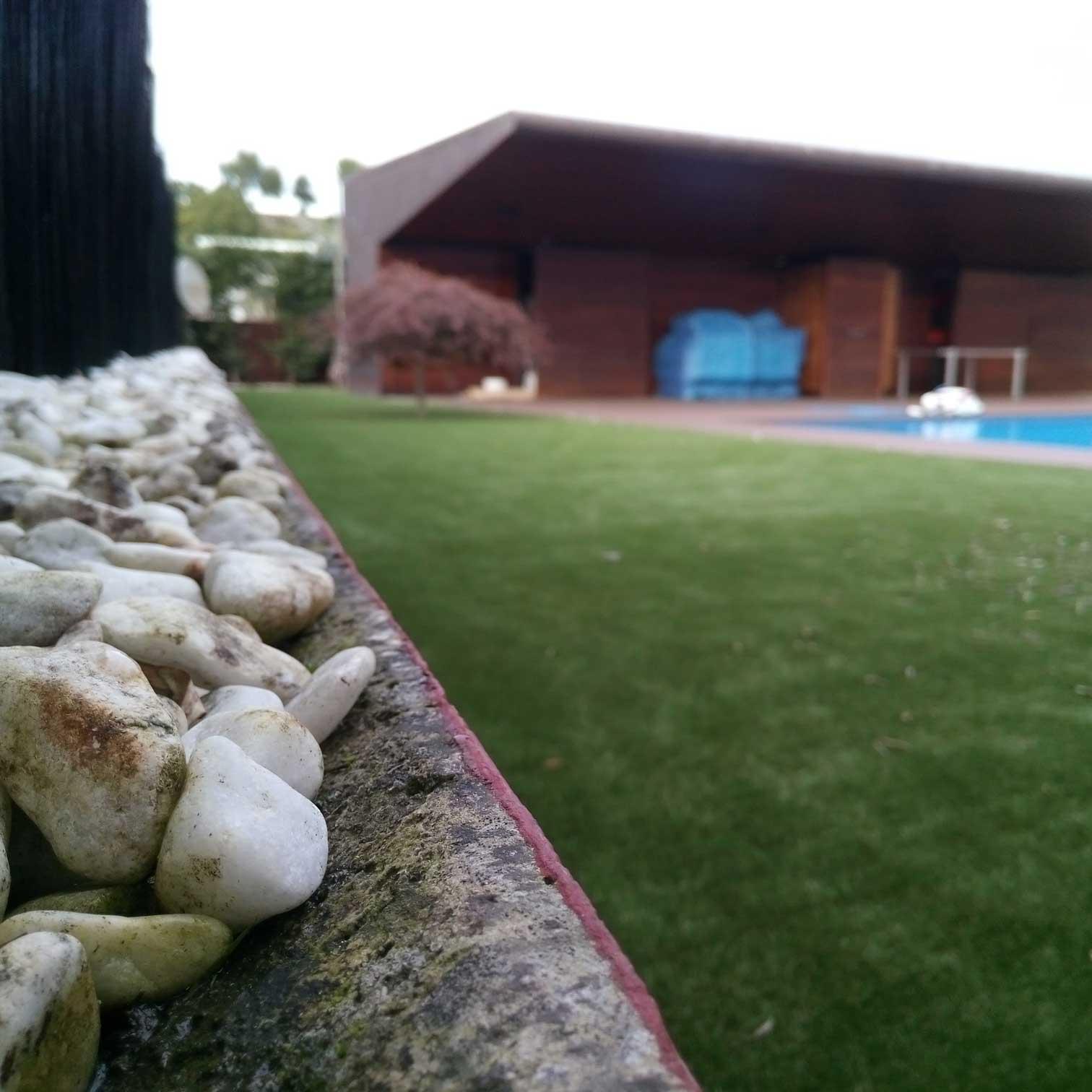 cesped artificial jardin asturias