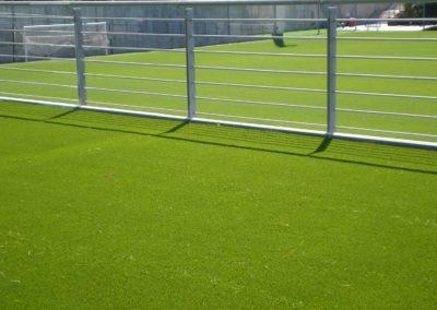 Césped artificial en instalaciones de fútbol en Madrid