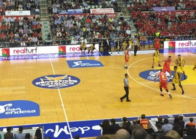 RealTurf, patrocinador de baloncesto en Murcia