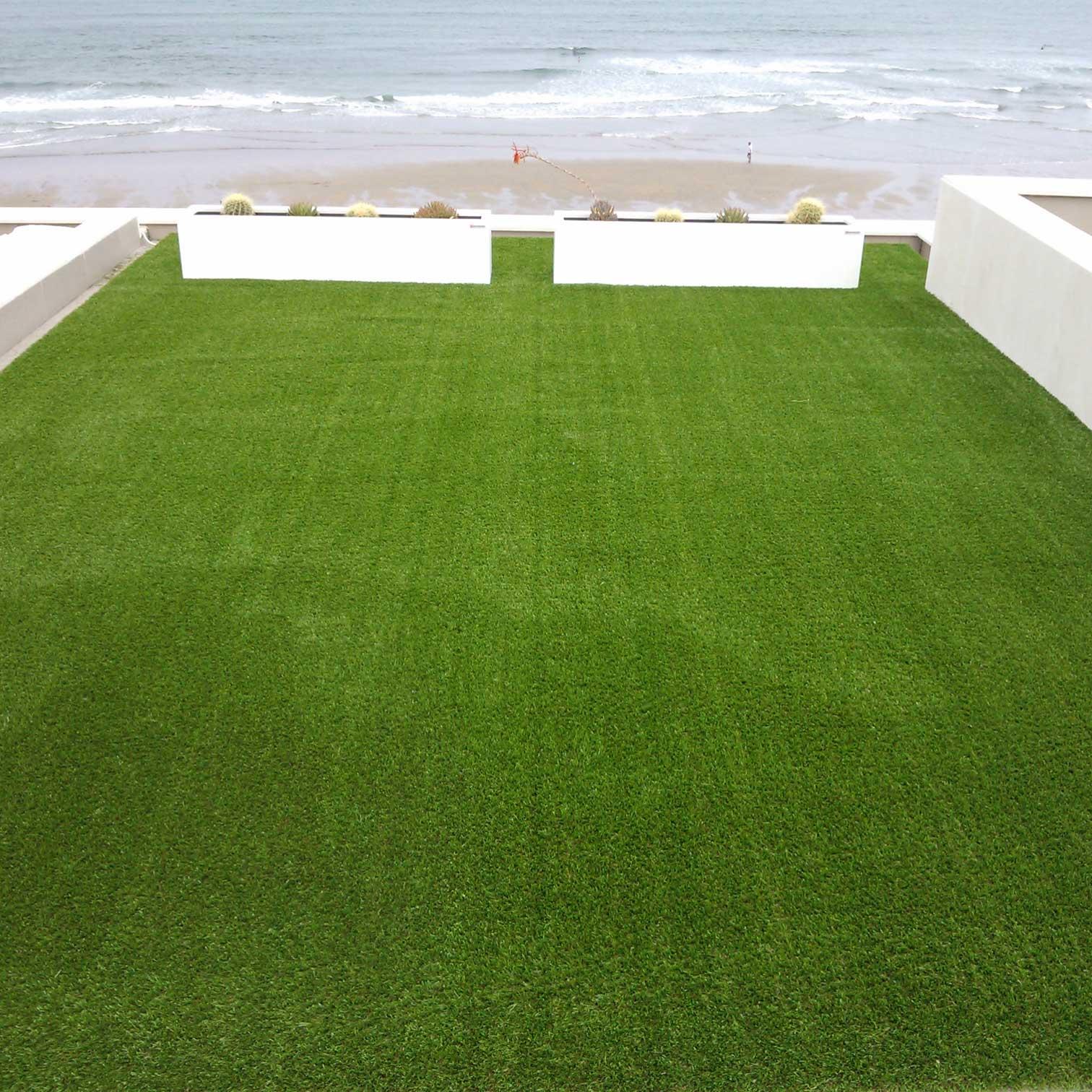 cesped artificial terraza mar asturias - Cesped Artificial Terraza
