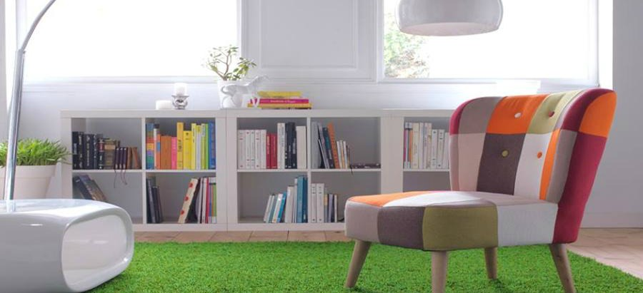 Indoor decoration with artificial turf realturf for Artificial grass indoor decoration