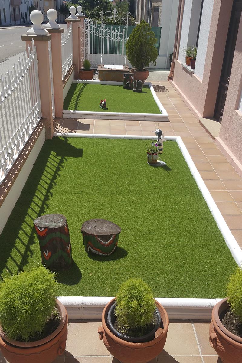Césped Artificial en Jardín y Terraza - Césped Artificial RealTurf