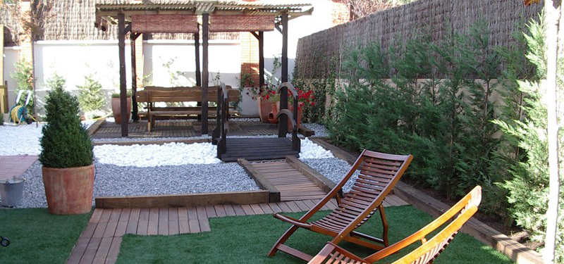 Jardin zen interior casa perfect diseo estilo oriental for Jardin artificial interior