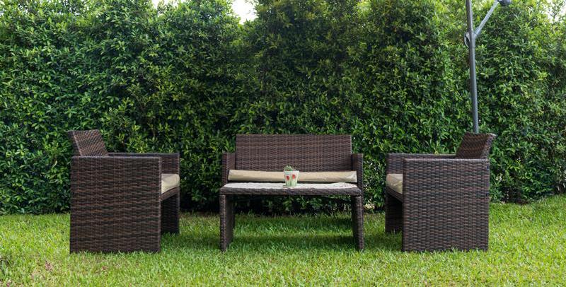 Los muebles del jardín dañan el césped artificial? - Césped ...