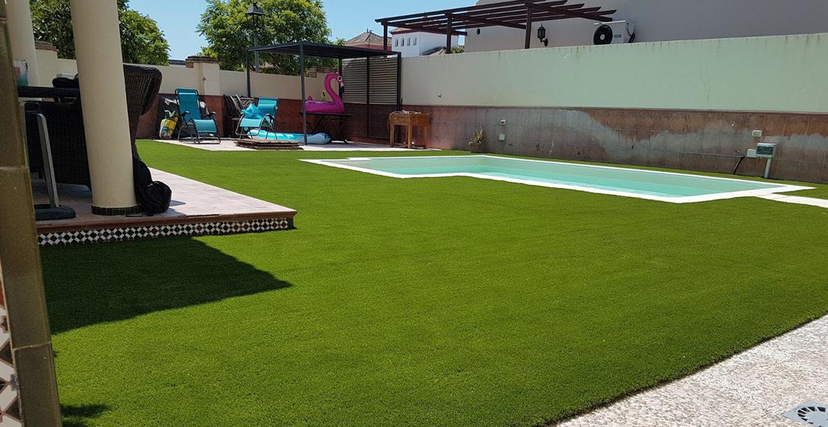 C sped artificial para piscinas realturf - Cesped artificial piscina ...