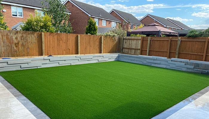 Artificial turf garden